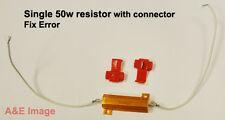 1x LED bulb TURN signal Light Load  Pair Resistor 50W 6OHM Fix Error Free Light