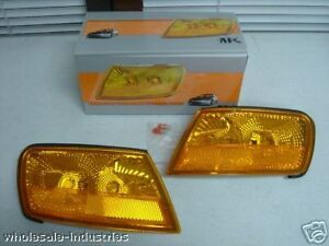 94-97 HONDA ACCORD 2DR / 4DR AMBER CORNER MARKER EURO LIGHTS JDM LAMPS APC NEW
