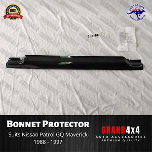 Premium Bonnet Protector for Nissan Patrol GQ Maverick 1988 - 1997 Tinted Guard