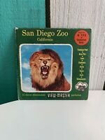 Sawyer's A173 San Diego Zoo CA Zoological Vacationland view-master Reels Packet