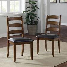 Better Homes & Gardens Granary Modern Farmhouse Ladderback Dining Chairs, Set of