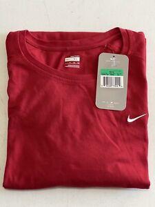 Nike FitDry Men XL Red Short Sleeve Shirt m17