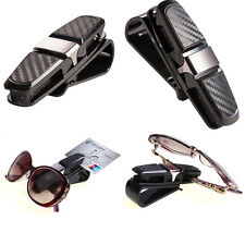 1X Universal Car Auto Sun Visor Glasses Sunglasses Card Ticket Holder Clip Bid