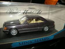 1:43 Minichamps Mercedes-Benz 300 ce-24 w124 COUPE Bornit n. 3414 OVP
