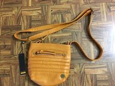 FOCUSED SPACE Tan Crossbody Purse Small BAG Metro Classy Business NWT Retail