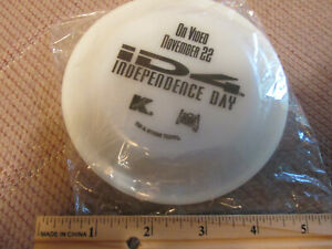 Independence Day movie PROMOTIONAL promo Frisbee Disc Glow in the Dark SEALED