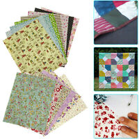 15pcs 20cm x 25cm Printed Cotton Fabric Patchwork for Sewing Clothing Accessory