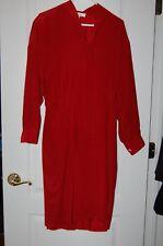 red silk dress 10