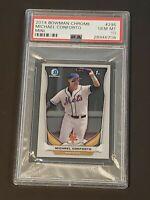 2014 Bowman Chrome Mini PSA 10 Michael Conforto RC Rookie Mets