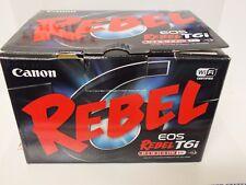 Canon EOS Rebel T6i (EOS D750) 24.2MP Digital SLR Camera Black (Kit 18-55mm STM)
