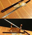 DAMASCUS FOLDED STEEL HANDMADE JAPANESE GENERAL KATANA SWORD