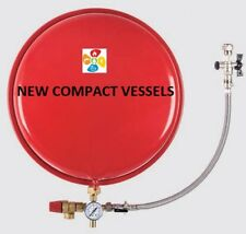 Robokit Compact Expansion Vessel 12 litre with Sealed System Kit  387mm x 142mm