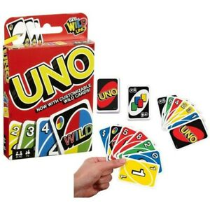 UNO Indoor Family Party Playing Card - 108 Playing Cards UK SELLER