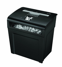 Fellowes 3214801 P-48C Destructeur de documents Coupe croisée 8 feuilles Noir