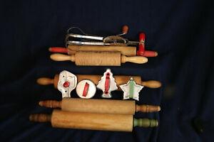 vintage rolling pins plus more