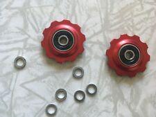 Bullseye Derailleur Pulleys Jockey Wheels Aluminum Sealed Bearing NOS