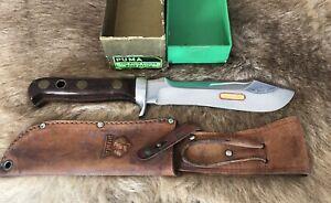 Puma Knife. 6399 Wood White Hunter