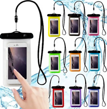 Swimming Waterproof Underwater Case Cover Dry Bag Pouch lanyard For Mobile Phone