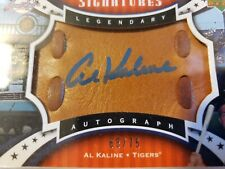 Al Kaline - 2007 Sweet Spot Classic Signatures - Glove Leather/Blue Ink #68/75