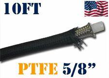 """5/8"""" 16MM NYLON STAINLESS STEEL PTFE  ETHANOL E85 FUEL HOSE LINE 10FT"""