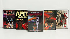 Anime DVD Lot of 5 Afro Samurai - Spirrit Warrior - Patlabor 2 - Madara - Kyo