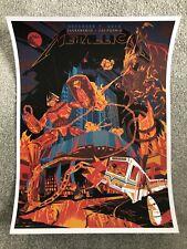 Metallica Sacramento Show Print Poster VIP Edition by Jason Malmberg - NT Mondo