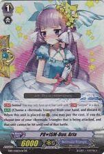 1x Cardfight!! Vanguard PRISM-Duo, Aria - White - EB10/008EN-W - RR Near Mint