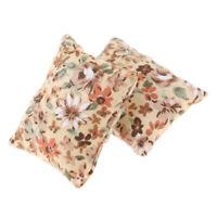 MagiDeal 1/12 Miniature Floral Pillow Cushions Dollhouse Sofa Accessories