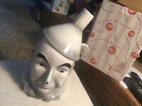 "Wizard of Oz Cookie Jar ""TIN MAN"" NEW- by Enesco- Original Box"