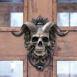 Sheep Skull Resin Wall Hanging Decor 3D Nordic Styles Crafts NEW Horns V7B8