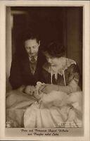 Adel Monarchie ~1910 Prinz Prinzessin August Wilhelm Preußen nebst Sohn Baby