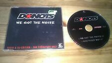 CD Punk Donots - We Got The Noise (2 Song) Promo BMG sc
