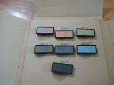 shiseido luminizing satin eye color lot of 7 full size no box