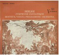 Berlioz: Symphonie Fantastic/Pierre Monteux, Vienna Philharmonic Orchestra LP
