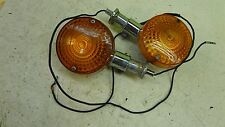 1975 Honda CB750 Four F Super Sport SS H883' rear turn signals set pair