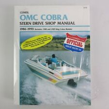 Clymer omc cobra estrella Drive manual 1986-1993 + King co b738 06