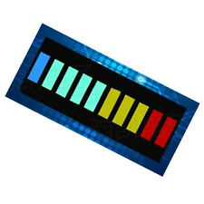 2PCS Bargraph 10 Segment Led Bargraph Light Display Red Yellow Green Blue#