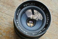 Prinzflex Auto Reflex 35mm 1:2.8 Lens Unknown Mount!