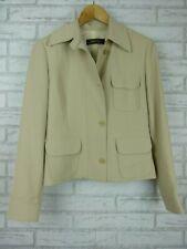 PATRICK GERARD Ladies Jacket Blazer Sz 38 (10?) Beige button front
