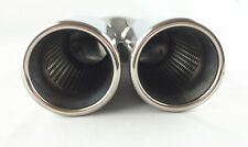 """Perf Core Inside/Twin Rolled Outlet/Stainless Steel Twin Tip .ID64MM/2.5"""" 2*89MM"""