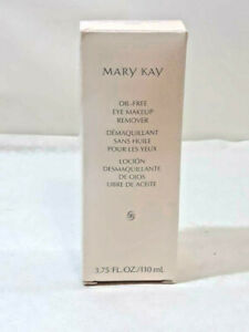 Mary Kay OIL FREE EYE MAKEUP REMOVER 3.75oz All Skin Types 089100 ~ Ships FREE
