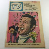 VTG TV Week's Complete TV Listings June 12-19 1971 - Val Doonican Saturday Treat