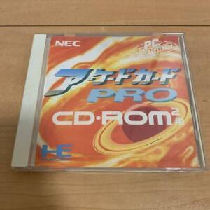 PC Engine Arcade Card Pro CD Rom2 NEC PCE Japan Import Game