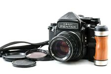 【 N MINT 】 PENTAX 6x7 67 Mirror Up TTL w/ SMC Takumar 105mm f2.4 Lens from JAPAN