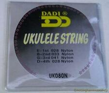 BLACK NYLON UKULELE STRINGS - UKELELE BANJO GUITAR