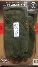New listing Plainsman Premium Cabretta All Purpose Leather Gloves (2 Pair) - X-Large