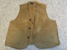 "Vintage Genuine Ll Bean 1940's ""Half Moon� Style Bird Shooting Vest, 2 Catalogs"