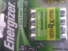 4 Pack Energizer Power Plus PreCharged AAA  Rechargeable Batteries 700mAh