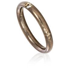Pomellato Lucciole Oxidized Titanium Ring 852819 - Size 3.5
