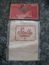 """STELLA / HARMONY POLISHING CLOTH for ACOUSTIC / ELECTRIC GUITARS - 12"""" BY 15"""""""